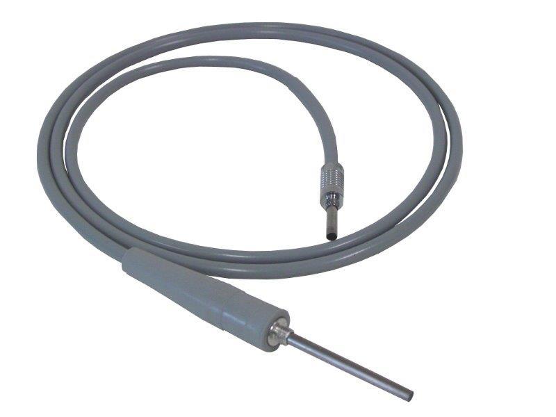 Afastador com fibra óptica