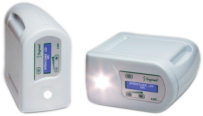 Fonte de luz led endoscopia
